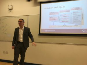 "Dr Mark Benson came to Queen Mary 27 Feb 2018 to give a lecture on ""Quantum Technology in Sensors and Metrology"". He is from Quantum Systems and Devices Research Group based in University of Sussex."
